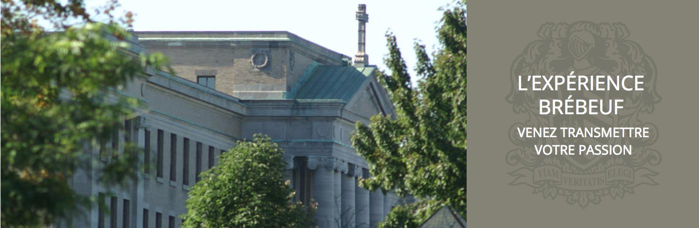 Emploi Collège Jean-de-Brébeuf